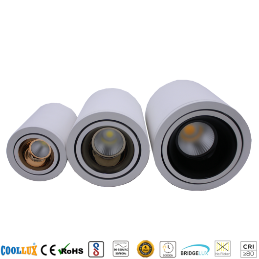 COOLLUX 7W 12W 24W DL035 COB LED MOUNTED DOWNLIGHT