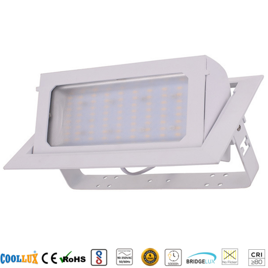 COOLLUX 40W DL025 SMD LED SQUARE TRUNK LIGHT