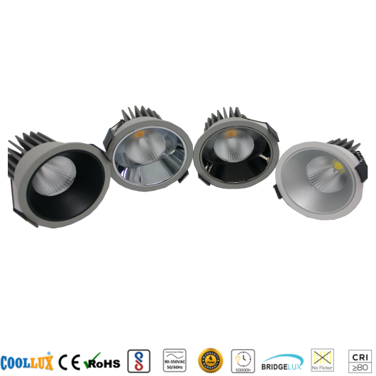 COOLLUX 6W 12W DL018 HIGH END SPOT LIGHT