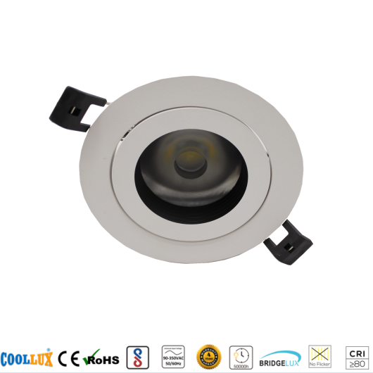 COOLLUX 7W 12W 18W DL016 HIGH END CEILING SPOT