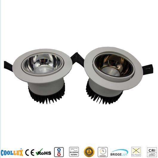 COOLLUX 6W 12W 18W DL012 COB CEILING SPOT LIGHT