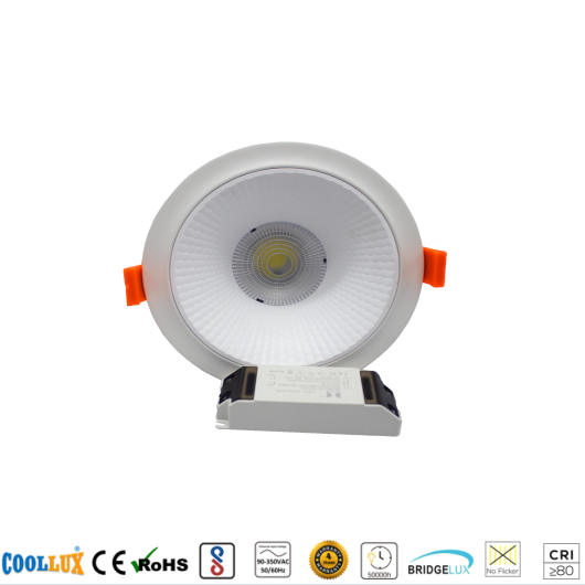 COOLLUX 7W 12W 18W 24W 30W 36W DL009 DOWNLIGHT