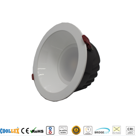 COOLLUX 7W 12W 18W 24W 30W 36W DL008 COB DOWNLIGHT