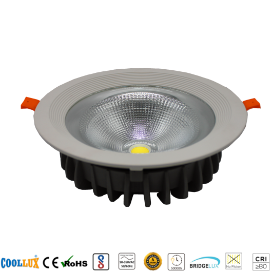 COOLLUX 50W DL005 COB LED DOWNLIGHT